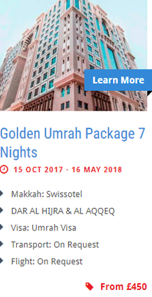 Golden Umrah Package 7 Nights