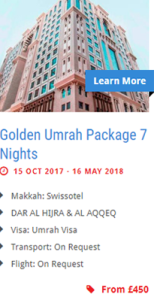 Golden-umrah-package
