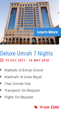 Deluxe Umrah 7 Nights