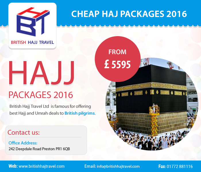 Haj packages 2017