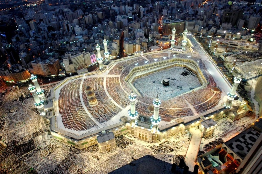 Makkah city never sleeps