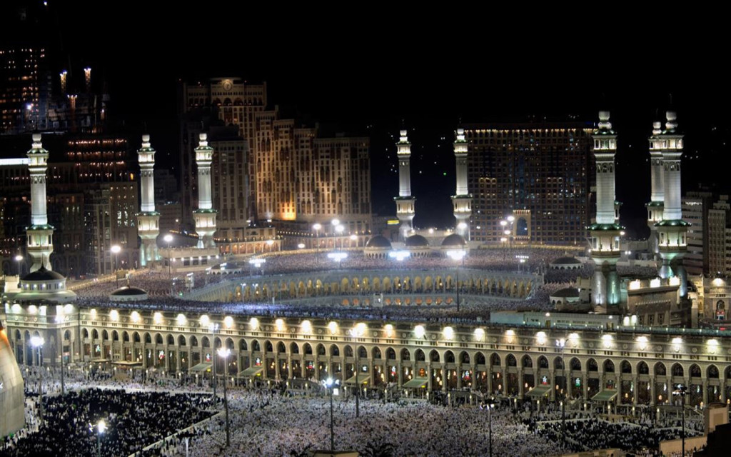 No place on Earth qual to Kaaba