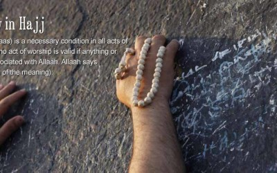 Sincerity in Hajj