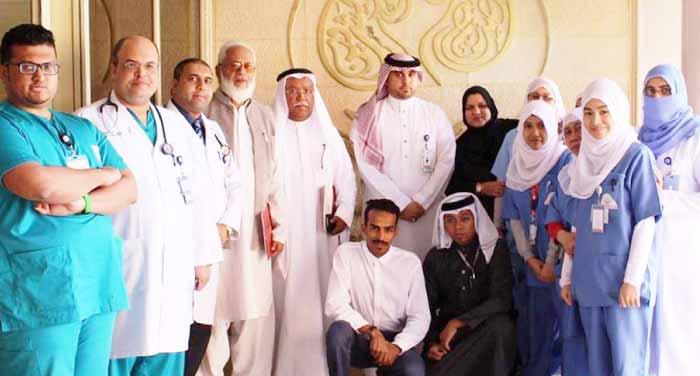 provides dialysis facilities to Umrah and Haj pilgrims